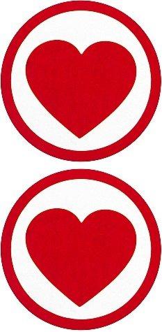 Пестисы round hearts красные sh-ouns009red
