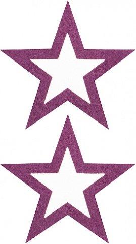 Пестисы открытые звезды фиолетовые sh-ouns012pur