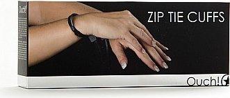 Наручники Zip Tie Cuffs черные, фото 5