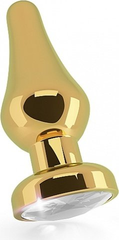 �������� ������ 4,5 r6 rich gold/clear sapphire sh-ric006gld