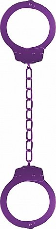 Оковы Pleasure Legcuffs Purple SH-OU006PUR