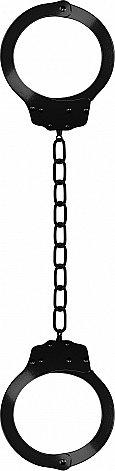 ������� Pleasure Legcuffs Black SH-OU006BLK