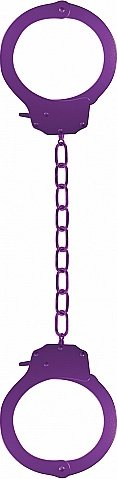Наручники Pleasure Legcuffs Purple SH-OU008PUR