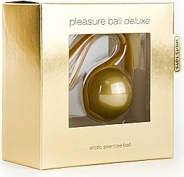 Шарики pleasure ball deluxe gold sh-sht100dgld, фото 2