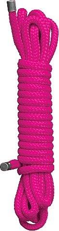Веревка для бондажа japanese rope 10 meter pink sh-ou031pnk