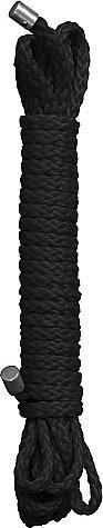 Веревка для бандажа Kinbaku Rope 5m Black RED SH-OU044BLK