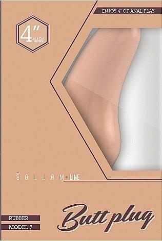 Анальная пробка Bottom Line 4 Flesh SH-BTM025FLE, фото 2
