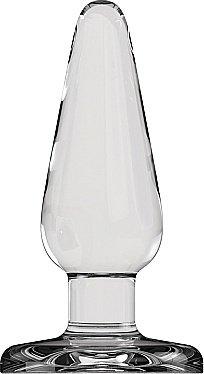 Анальный стимулятор Bottom Line 5 Model 1 Glass SH-BTM002GLS