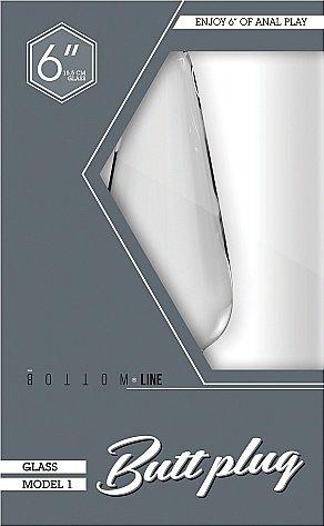 Анальный стимулятор Bottom Line 6 Model 1 Glass SH-BTM003GLS, фото 2