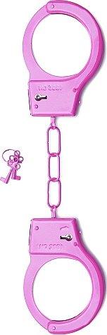 металлические наручники shots toys pink sh-sht347pnk