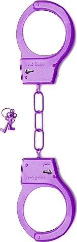металлические наручники shots toys purple sh-sht347pur