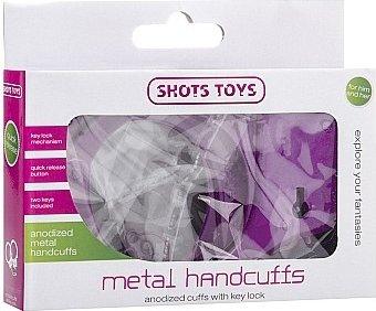 металлические наручники shots toys purple sh-sht347pur, фото 2