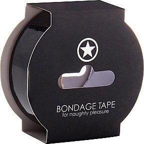 Лента non sticky bondage tape black sh-oubt003blk