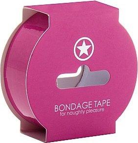 Лента non sticky bondage tape pink sh-oubt003pnk