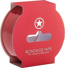 Лента non sticky bondage tape red sh-oubt003red