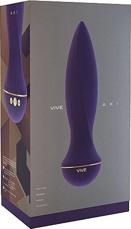 вибратор aki-purple sh-vive002pur, фото 2