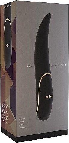 вибратор aviva-black sh-vive005blk, фото 2