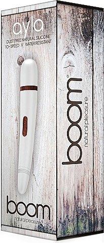 Вибратор boom ayla -white sh-boom007wh, фото 2