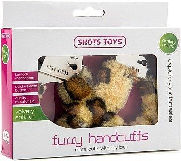 Наручники Furry Handcuffs Cheeta SH-SHT255CTH 26 см, фото 2