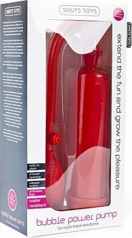 Помпа, красная, 68 х215 мм, фото 2