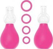 Набор для стимуляции груди розовый 056 | Игрушки из стекла | Интернет секс шоп Мир Оргазма