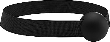 Кляп elastic ball ouch! black sh-ou120blk