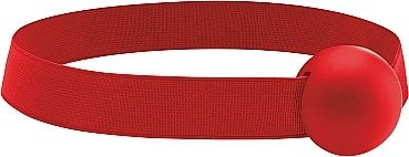 Кляп elastic ball ouch! red sh-ou120red