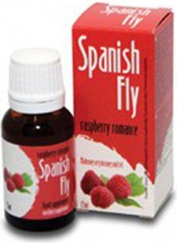 Шпанская мушка spanish fly (со вкусом малины) 15 мл, фото 2
