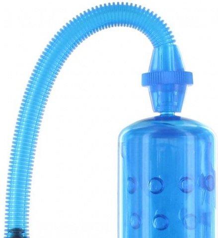 Вакуумная помпа XLsucker - Penis Pump, цвет Голубой, фото 2