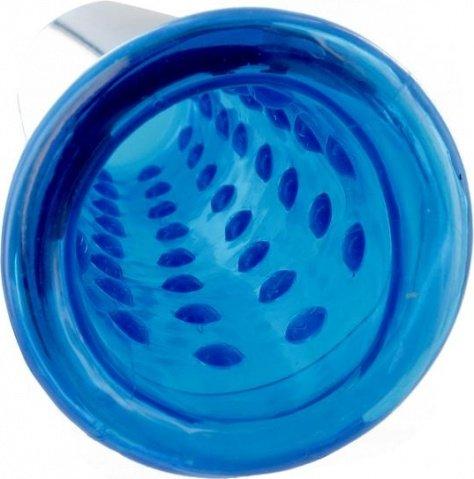 Вакуумная помпа XLsucker - Penis Pump, цвет Голубой, фото 4
