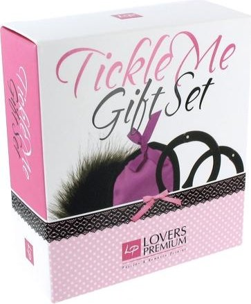 Любовный набор LoversPremium Tickle Me Gift Set, цвет Фиолетовый, фото 4