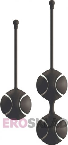 Вагинальные шарики Loverspremium O-balls Set, цвет Черный