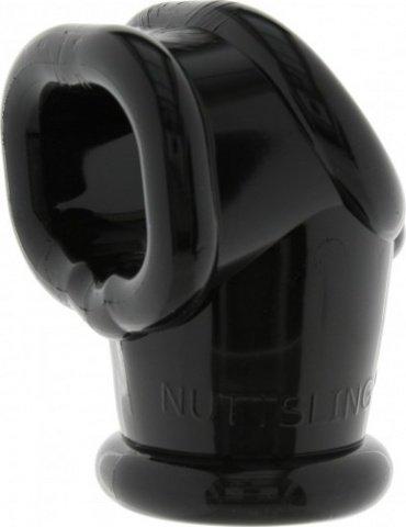Эрекционное кольцо Mister B Penisring Oxballs Nuttsling, черное, фото 3