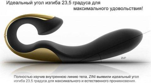 Вибромассажер zini roae фиолетовый с черным, фото 3