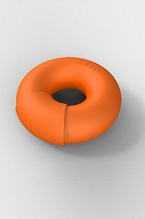 Универсальный вибромассажер donut orange оранжевый