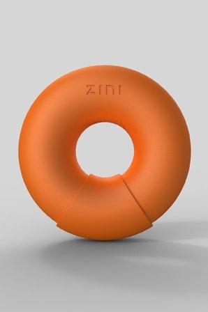 Универсальный вибромассажер donut orange оранжевый, фото 2