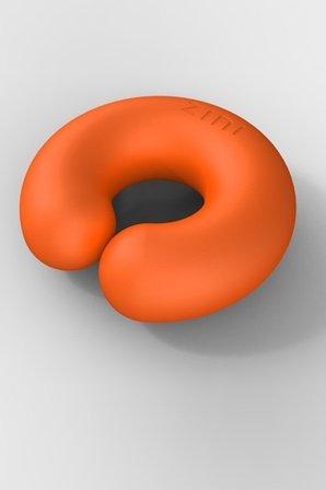 Универсальный вибромассажер donut orange оранжевый, фото 3