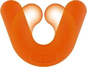 Универсальный вибромассажер donut orange оранжевый, фото 4