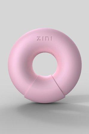 Универсальный вибромассажер donut strawberry розовый