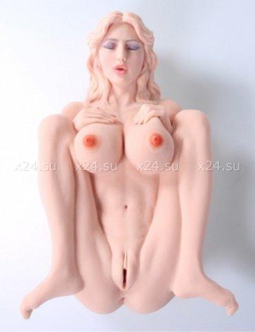 Victoria, мастурбатор кукла вагина + анус без вибрации, фото 2