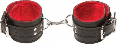 Поножи x-play passion fur ancle cuffs red 2063xp