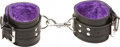 Наручи x-play passion fur wrist cuffs purple 2064xp