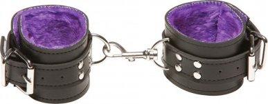 Наручи x-play passion fur wrist cuffs purple 2064xp, фото 5