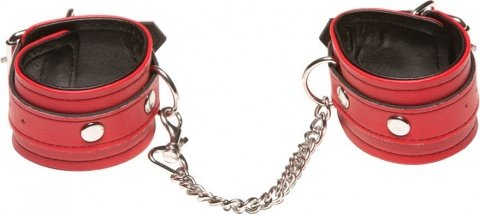 ������ x-play love chain wrist cuffs red 2068xp