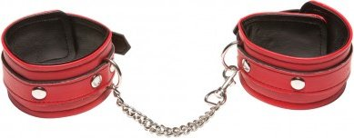Поножи x-play love chain ankle cuffs red 2069xp, фото 2