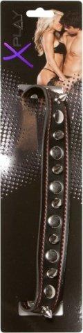 Ошейник с шипами x-play spiked collar 2079xp, фото 3
