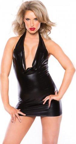 Черное короткое платье, фото 3