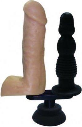 Сменная двойная насадка для секс машин