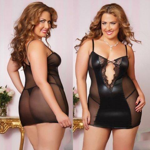 Нижнее платье из двух материалов lame & lace