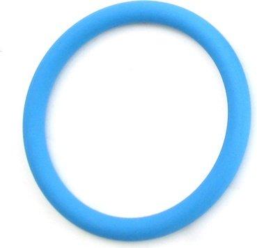 Нитриловое эрекционное голубое кольцо d=50 мм M2M, фото 2